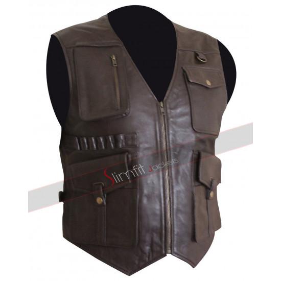 Jurassic World 2 Vest Chris Pratt Fallen Kingdom Owen Grady Vest