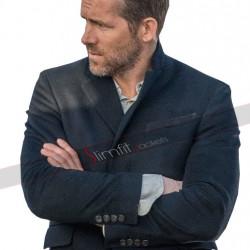 Ryan Reynolds Hitman's Bodyguard Michael Bryce Coat Jacket