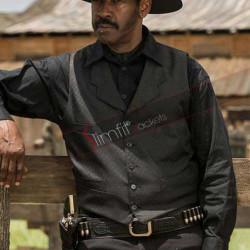 Sam Chisolm The Magnificent Seven Bounty Hunter Black Vest