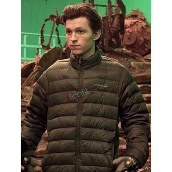 Tom Holland Avengers Infinity War Parachute Jacket