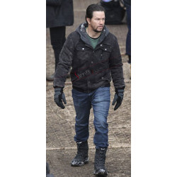 Daddys Home 2 Mark Wahlberg (Dusty) Black Jacket