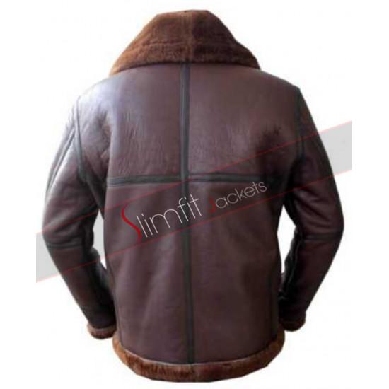 Aviator RAF B3 Sheepskin Shearling Leather Jacket