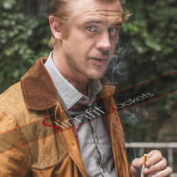 American Actor Boyd Holbrook Leather Jacket