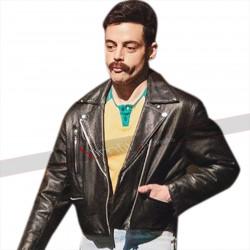Bohemian Rhapsody Freddie Mercury Rami Malek Leather Jacket