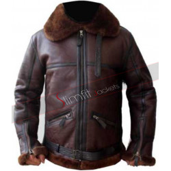 Aviator RAF B3 Sheepskin Shearling Leather Jacket