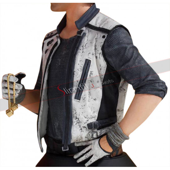 A Star Wars Story Han Solo White Vest