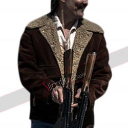 White Boy Rick Richard Wershe Sr. Suede Leather Jacket