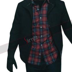 Mark Wahlberg Mile 22 Black Cotton Jacket