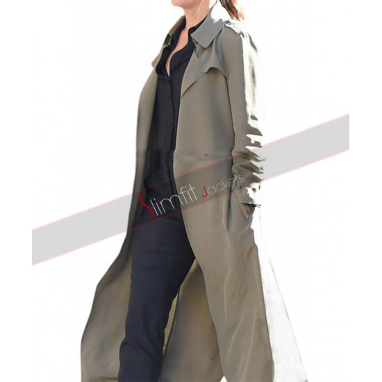 Ocean's Eight Debbie Ocean Grey Trench Coat