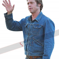 Once Upon a Time in Hollywood Brad Pitt (Cliff Booth) Denim Jacket
