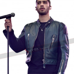 Zayn Malik Short Body Black Leather Jacket