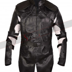 Avengers Endgame Hawk-Eye Clint Barton Leather Costume Jacket