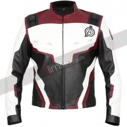Avengers Endgame Iron Man Quantum Suit Leather Jacket