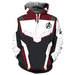 Avengers Endgame Iron Man Fleece Hoodie Jacket