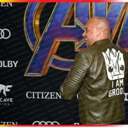 Avengers Endgame I Am Groot Leather Jacket