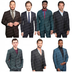 Avengers Endgame Infinity War LA Premiere Menswear Suit Collection