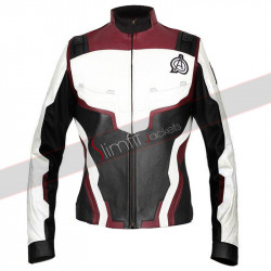 Avengers Endgame Quantum Realm Women Leather Jacket