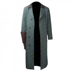 Hellboy Anung Halloween Costume Trench Coat Jacket