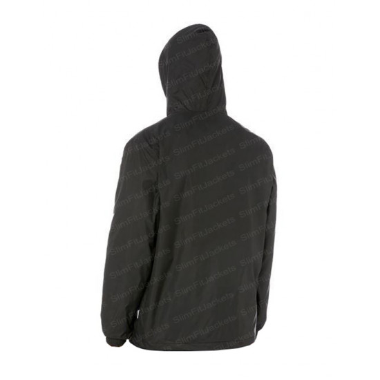 Men Slimfit Core Windbreaker Cotton Hoodie Jacket
