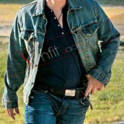 Mark Wahlberg 2 Guns Stig Denim Jacket Sale