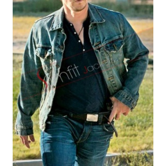 Mark Wahlberg 2 Guns Stig Denim Jacket Sale