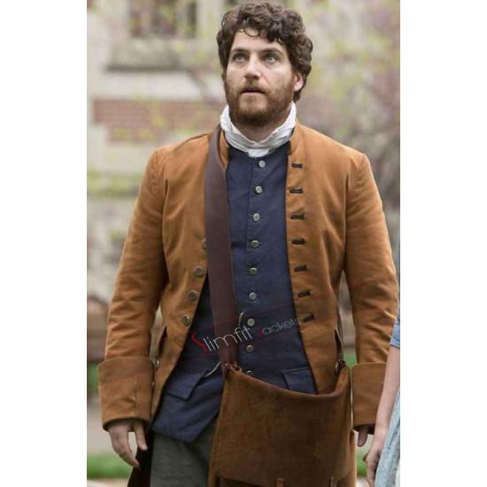 Adam Pally Making History Trench Coat
