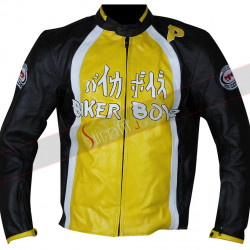 Biker Boyz Derek Luke (Kid) Yellow Leather Jacket