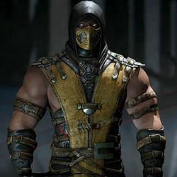 Mortal Kombat X Legendary Scorpion Vest Costume