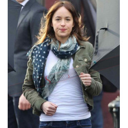 Fifty Shades of Grey Anastasia Steele Green Jacket