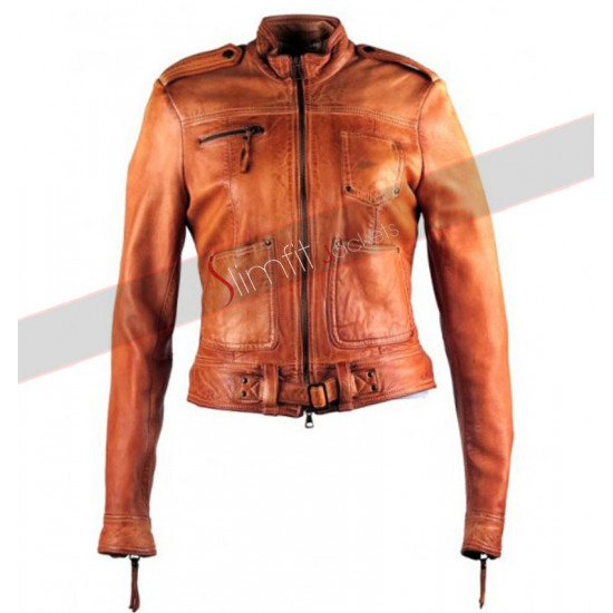 Jennifer Morrison Once Upan a Time S4 Leather Jacket