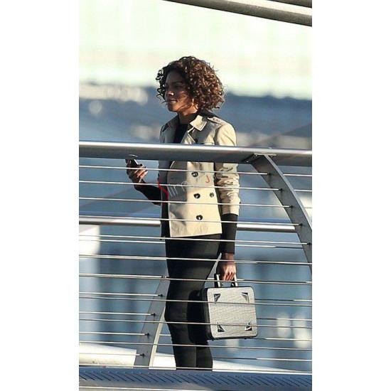 Naomie Harris Cotton Jacket