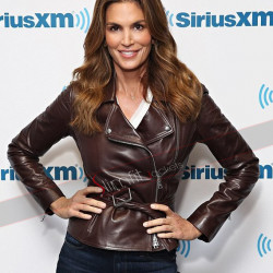 Cindy Crawford Brown Leather Jacket