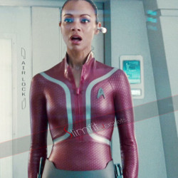 Zoe Saldana Star Trek Beyond Uhura Jacket Sale
