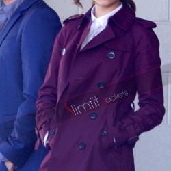 Eiza Gonzalez Baby Driver Trench Coat