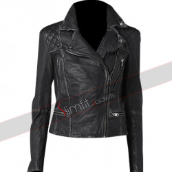 Agents of S.H.I.E.L.D Skye Jackson Motorcycle Leather Jacket